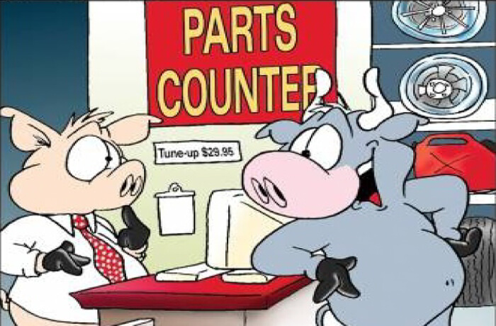 SPARE PARTS COUNTER