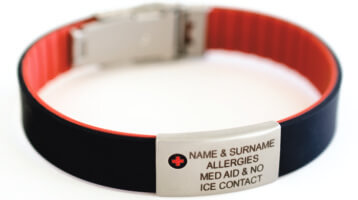 Why aren't you wearing your medical I.D. Tag from ICE-TAGS?