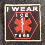 I WEAR ICE-TAGS PATCH